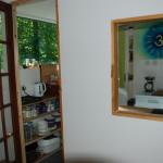 The Woodland Shala Kitchen