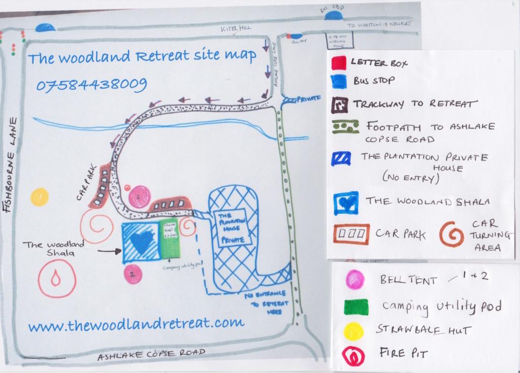 The Woodland Retreat Map