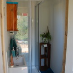 Camping Utility Pod Shower and toilet room