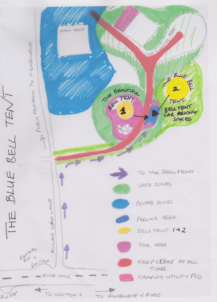 bell tent maps