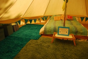 The Blue Bell Tent
