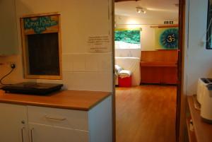 kitchen/main area