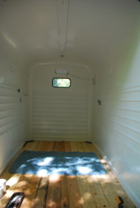 Inside the Tender Heart trailer bed coming soon
