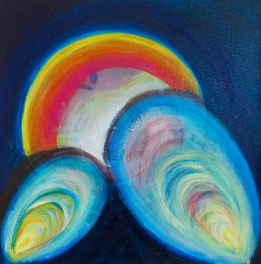 Love- Acrylic on canvas